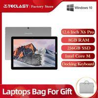 12,6 Zoll 1920 * 2880 Teclast x6 pro 2 in 1 Tablet PC Intel Core M 8 GB RAM 256GB SSD Windows 10 Touchscreen Laptop Dual WiFi1