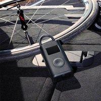 Pompe à air de vélo Xiaomi Mi Mi Mijia Porte-pneumatique numérique Pneus Détection de la pression de la pression électrique Pompe de gonfleur électrique pour moto vélo Q1225