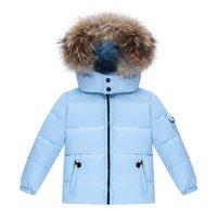 Распродажа Продажа orangemom Куртка для мальчиков утка вниз Детское пальто Ветря для девочек Водонепроницаемые комбинезоны для детей Снятия Snowsuits LJ201130