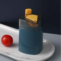 التلقائي مسواك حامل حاوية الإبداعية البلاستيك المنزلية الجدول مسواك تخزين مربع المحمولة مسواك دلو موزع PPD4222