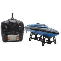 Yok TKKJ H100 RC Tekne Yüksek Hız 2.4 GHz 4 Kanal 30 KM / H Yarış Uzaktan Kumanda Tekne Ile LCD Ekran Hediye Çocuk Oyuncakları
