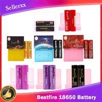 Ursprüngliche BestFire BMR IMR 18650 Batterie 2500mAh 3000mAh 3100mAh 3200mAh 3500mAh Wiederaufladbare Lithium Vape Mod Batterie 30A 35A 40A 60A DISCHA