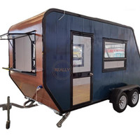Procesadores de alimentos Truck Fast Truck Street Snacks Tienda Cafetería Carrito Móvil Perro Cocina Trailer Helado Vending Kiosk1