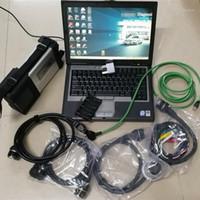 Outils de diagnostic MB STAR C5 SD Connectez-vous avec l'EST Version Software 2021.06 HDD / SSD Laptop D630 Scanner pour voitures Trucks1