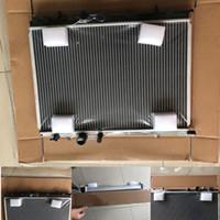 Автомобильный резервуар для воды Радиатор Intercooler Radiator круглые трубы водоснабжение системы охлаждения двигателя Аксессуары для Toyota Peugeot 206 высокое качество