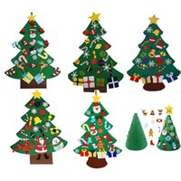 Creative DIY Felt Christmas Tree New Year Gifts Kids Toys Ar...