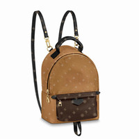 고품질 패션 PU 가죽 미니 크기 여성 가방 어린이 학교 가방 배낭 스프링스 레이디 토트 여행 가방 큰 지갑 미국 창고