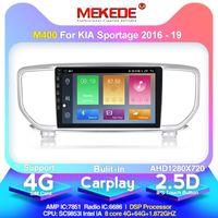 Mekede 안드로이드 10 2.5D IPS 화면 4 + 64G 자동차 GPS 네비게이션 라디오 플레이어 KIA Sportage 4.2 QL KX5 2021 2021 옥타 코어 DSP WIF 자동차 DVD