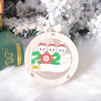 Бесплатная доставка маска для лица куклы деревянного Рождественского кулона с легким Новогодним украшением дерева туалетной бумагой выжившего благословения кулон F7503