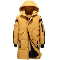 Piumino elegante Maschio giù ricoprono il Teens Inverno uomo nuovo spessore caldo Abbigliamento Uomo Abbigliamento di marca degli uomini Warm Parka 1910 201111