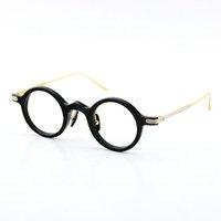 2020 novo frete grátis original búfalo chifre óculos circulares óculos de titânio óculos acessórios redondos vintage unisex óculos limitados