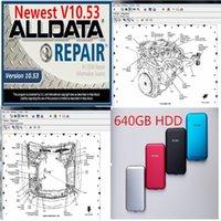 2020 모든 640GB 디스크 데이터 소프트웨어 640GB V10.53 AllData HDD HDD USB3.0 하드 자동 MDVPU