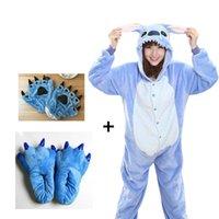 2020 Panda Onesies adulta del partito Cosplay nero blu unisex di usura Anime Pajamas Bambini Bambini Pajamas Sleepwear