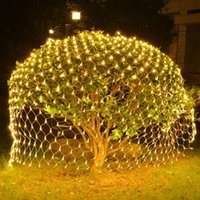 1.5x1.5m 2x3m 6x4m 8x10m светодиодный сетевой сетка Fairy String Light рыба гирлянда окна занавес рождественские светлые свадебные вечеринки декор праздник