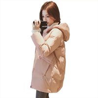 New Winter Jacket Women Thicke Outerwear Loose BF Cotton Pad...