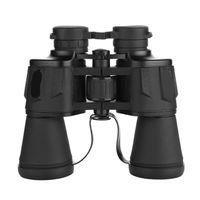 FreeShipping Лусюнь 10x50 High Maginification Увеличить Порро Бинокль HD Военный Мощный оптический телескоп широкоугольный для наружной охоты