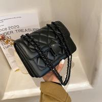 HBP 메신저 가방 핸드백 핸드백 디자이너 새로운 디자인 여성 가방 고품질 텍스처 패션 패션 숄더 가방 체인 체크 레이디
