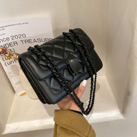 Texture Handbag Bag New Designer Messenger High Woman Quality Design HBP Fashion Check Shoulder Chain Lady Tudor
