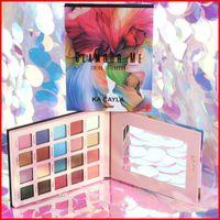 Ka Cayla Maquiagem Profissional Glam Nossa Me Color Sombra 20Color Shimmer e Matte Eye Shadow Palette impermeável Maquillage
