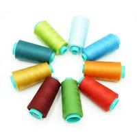 Couleur couramment utilisé 202 Thread de broderie de la machine de haute qualité DIY Kit de filetage à coudre DIY filetage 40S2 couleur pagoda 402 machine à coudre en polyester t