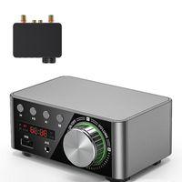 HIFI Bluetooth 5.0 Digitale Power Audio Board 50WX2 Stereo Amp Amplificador Home Theatre USB TF-kaartspeler