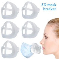 Silicone Mask Bracket Lipstick Protection Stand Mask Inner Support Enhancing Breathing Smoothly Face Masks Protection Frame Tool Accessory