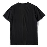 Мода Мужская Шаблон Принт T Рубашки Черные Моды Мужчины Женщины Высокое Качество Коротким Рукавом Tees S-XL 2021 Оптовая