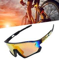 toptan YENİ 5 Mercek UV400 Bisiklet Güneş TR90 Spor Bisiklet Gözlük MTB Dağ Bisikleti Balıkçılık Yürüyüş Binme Gözlük 1/5 mercek