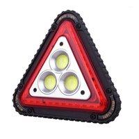 Luz de trabalho LED Lâmpada de trabalho Portátil impermeável TRIANGULAR TRIANGULAR para acampar caminhadas emergência1