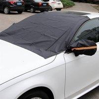 الملحقات الخارجية الأخرى سيارة الزجاج الأمامي الرؤية الخلفية مرآة غطاء الثلوج الشمس إزالة الثلج الصقيع بسهولة في الشتاء والصيف للسيارات 1