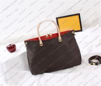 Çanta Kadın Çanta Moda Omuz Çantaları Klasik Yüksek Kaliteli Hakiki Deri Çanta Çanta 3 Renkler Çanta Serisi Kod 34x26x12 cm LB27