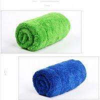 Coral Velvet Dishcloth Двойная палуба утолщение абсорбирующей тряпки кухонная уборка чистого стола пол полотенце без волос новое поступление 2 1RS K2