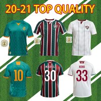 Fluminense 20 21 Home Away Tailândia Qualidade Futebol Jerseys Ganso Fluzão Fred Nene Nino Henrique Futbol Camisas Futebol Camisas