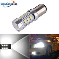 Lumières de secours 1157 12 5630 SMD Bay15D LED Lampe haute puissance 21 / 5W Ampoules de voitures Source de frein Parking 12V 24V blanc rouge jaune1