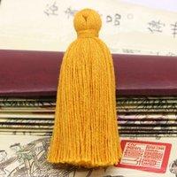 6cm Courte obésité Tassel 100 Tassels de coton Pendentif Ornement DIY Main Handmade Robe Garment Accueil Textile Accessoires 10pcs H JLLHVD