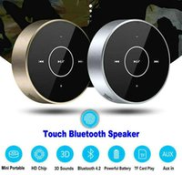 A6 Bluetooth 4. 2 Speaker Wireless Touch Control Mini Speaker...