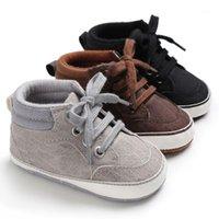 طفل رضيع الأحذية الجديدة الكلاسيكية الوليد الطفل الأحذية قماش لصبي قبل ريسيلر أول مشوا الطفل الطفل 1