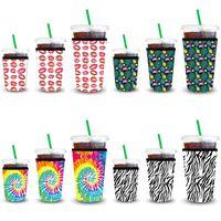 Кофейные рукава кофе замороженные 3 пакета многоразовый кофемальный кофеиковый гильзовый гильзовый изолятор для холодных напитков напитки.