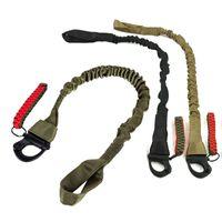 Outdoor Sports Army Caccia fucile Ripresa Paintball Gear Airsoft Strap Gun Lanyard Punto singolo Tactical Quick Release Sling SO12-012