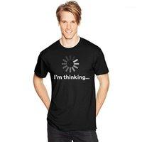 Hombre oscuro adulto divertido camisetas Humor camisas verano 100% algodón casual o-cuello manga corta hombre camiseta Top Treed