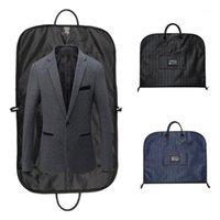 Homens portáteis terno saco de armazenamento do powerproof gancho organizador de roupas cobre casaco de viagem Caso roupas acessórios1
