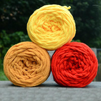 DIY Hot Soft Thinting Chunky Welly Ballon de laine Skein Filfe Fils Couleur pure Couleur Cute 100g # 804651