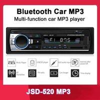 새로운 도착 12V 1 하나의 단일 DIN 자동차 스테레오 원격 제어 FM 라디오 MP3 오디오 플레이어 지원 블루투스 전화 USB / SD MUSIC1