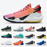 Venta bien NRG Freak 2.0 Mens Shoes de baloncesto Naija Dusty Amathyst Bamo Blanco Cemento 1 Todos los entrenadores de Bros Sneakers deportivos 40-46