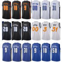Erkekler Baskı Şehir Kazandı Basketbol ChaMa Okeke Jersey 3 Mohamed Bamba 5 Cole Anthony 50 Carter-Williams 7 Özel Ad Numarası Renk