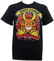 Authentic Bianco Zombie Band Devil's Music Music Rock Metal T-Shirt S-3XL New Hip Hop Novità T Shirt T-shirt da uomo Abbigliamento da uomo Top Tee1