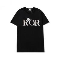 21ss Yeni Erkek Stylist T Gömlek Erkekler S Giyim 3D Yaz Tshirt Hip-Hop Kadın S Kısa Kollu Luxurys Tasarımcı Giysi Lady Rahat Tee