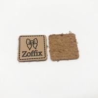 Кожаные этикетки на заказ кожаные патч оптом 50 шт. Ручной работы PU кожаные чулки на продажу для шляпы одежды