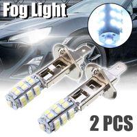 Araba Farları 2 adet / takım H1 Sis Işık 25 SMD LED Sürüş Far Yedek Ampul Süper Parlak Beyaz Işıklar1