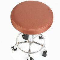 Простой стул крышка бар круглый стул полиэстер сиденья крышка кресло стоматолога для волос салон для волос